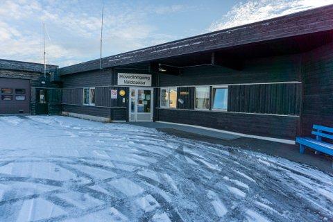 STENGT: Sykeavdelingen i Porsanger er stengt for alt besøk utenom de aller nærmeste, etter at en ansatt og en pasient har fått påvist korona.