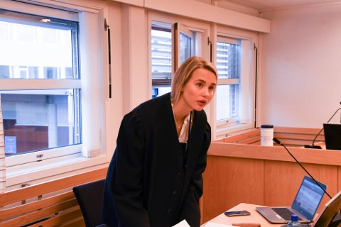 AKTOR: Politiadvokat Guro Angell Steffensen var aktor i saken mot mannen.