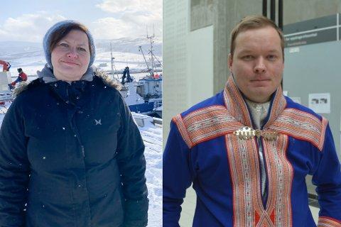 MELDER SEG PÅ: Tana, her ved ordfører Helga Pedersen, og Kautokeino ved tidligere ordfører Johan Vasara, melder at de vil gi Vadsø kamp om det nye rettsstedet i Finnmark