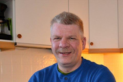 VANT ANBUD: Ståle Kjellmann, daglig leder i Anlegg Nord as, er glad for å ha skaffet litt vinterarbeid til arbeidsfolket.