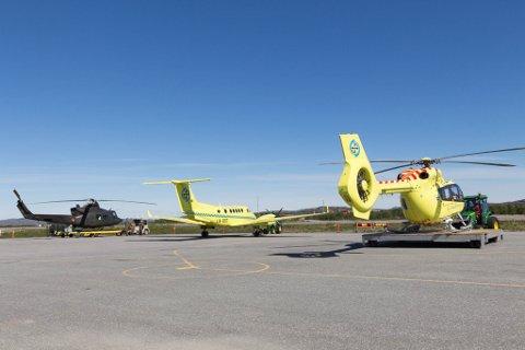 PERMANENT: Nå får Øst-Finnmark permanent helikopter.