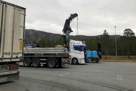 STORKONTROLL: Statens vegvesen har vært hele tre steder på kontroller denne uken.