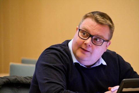 Tommy Berg. Møte i formannskapet i Alta 12. november 2020, Alta rådhus.