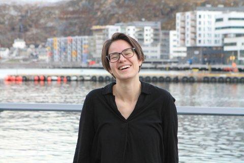 SATS PÅ FINNMARK: Katharina skulle ønske flere unge valgte å bosette seg i nord, spesielt fordi man raskere kommer i mål med karriéren.