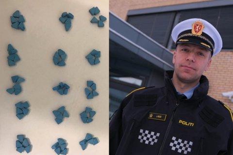 BEKYMRET: Politiet ser med stor bekymring på utviklingen i en del ungdomsmiljøer i Finnmark, sier politistasjonssjef i Varanger politistasjonsdistrikt, Jørgen Holte.