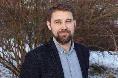 SJEF: Hammerfestingen Georg Johnsen er ny klinikksjef for sykehuset i Nordmøre og Romsdal. Pressefoto
