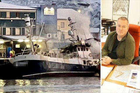 EN TRIST DAG: Ordfører i Båtsfjord, Ronald Wærnes, forteller at denne lørdagen er en trist dag.