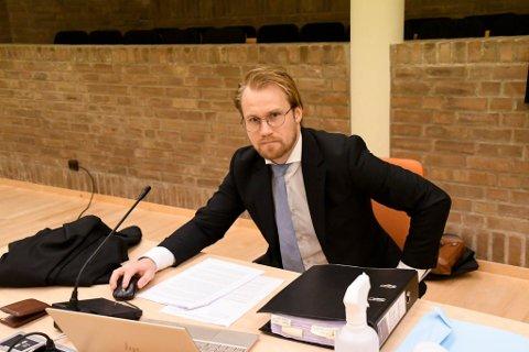 FOR STRENG: Forsvarer Marius Ihlebæk. Ankesak mener Hålogaland lagmannsrett ikke har tatt nok hensyn til at hans klient prøvde å berge livet til avdøde etter at han knivstakk han i desember 2019. Derfor anker de straffeutmålingen til høyesterett.