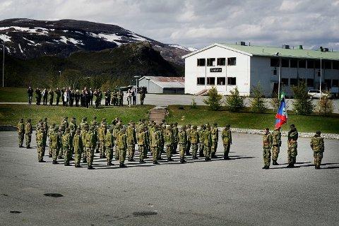 MØTTE IKKE HER: Mannen møtte ikke til tjenestegjøring hos HV-17 i Porsanger.