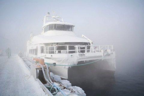 ALLE BÅTENE STÅR: Boreal har alle kontrakter på fylkeskommunens båter og ferger i Finnmark.