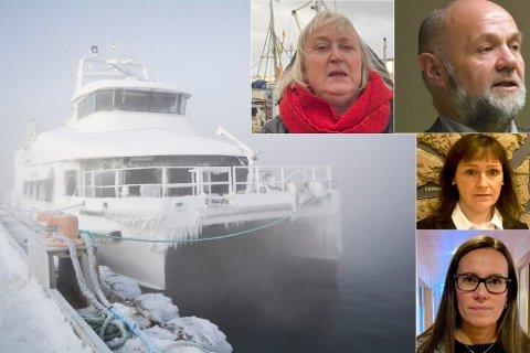 SVÆRT ALVORLIG: Ordførerne i Hasvik, Hammerfest, Loppa og Alta er alle bekymret for konsekvensene av seilingsnekten.