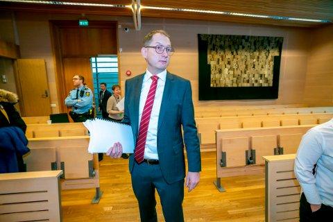 UTNEVNT: Statsadvokat Hugo Henstein ble fredag utnevnt til leder av statsadvokatembetet i Troms og Finnmark. Her fotografert i lagmannsretten, der ankesaken etter det største narkotikabeslaget som er gjort i Tromsø.