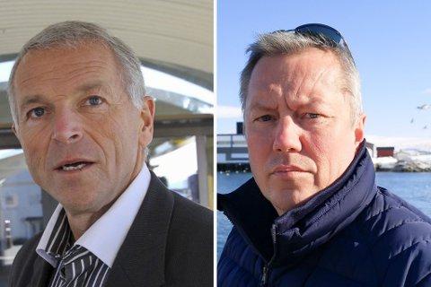 UENIGE OG ENIGE: Geir Knutsen (Ap) og Ronald Wærnes (Sp) er enige om behovet for ny skole og barnehage. Knutsen ønsket imidlertid detaljene for omstilling på bordet nå og ikke i desember som flertallet ville.