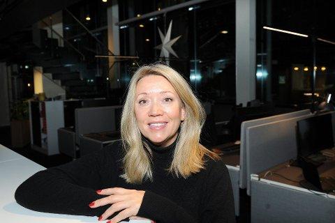 BYTTER JOBB: Avtroppende nyhetsredaktør i AN, Vibeke Madsen. Foto: Hans Trygve Holm