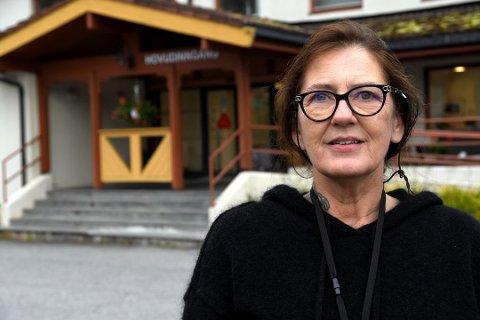 GLEDER SEG: Hege Koteng gleder seg til å ta fatt på nye utfordringer som helsesjef i Båtsfjord.