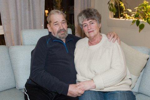 STØTTESPILLER: Hans Arne og Svanhild Nergaard har levd sammen i snart 60 år. Nå nærmer Hans Arne seg slutten. Han vil tilbringe sin siste tid uten smerter, sammen med kona, venner og familie.