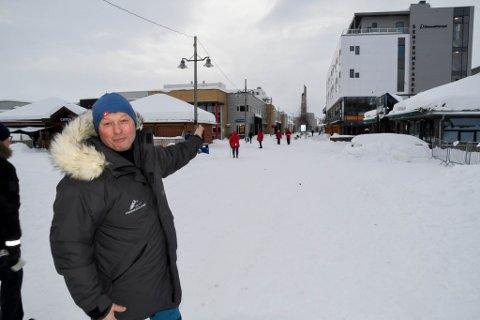 Jan-Arne Jakobsen er arenasjef i Finnmarksløpet.