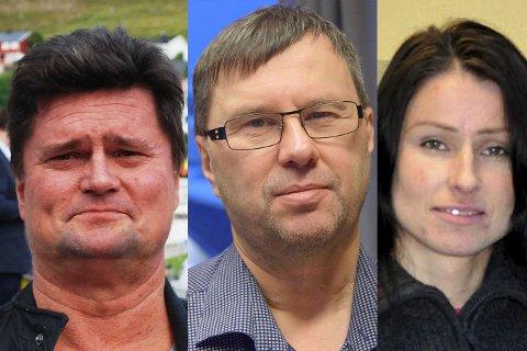 REAGERER:  Lars Birger Persen i Ságat, Raymond Elde i Radio Nordkapp, og Randi Iren Olsen i Finnmarksposten reagerer på at et formannskapsmøte i Nordkapp kommune har blitt hemmeligholdt.