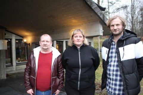 FORTVILTE: ente Marie Kvam fra SalMar, Thomas Gudbrandsen fra Lerøy Midt og Roald Jensen fra Mowi er fortvilte over den foreslåtte havbruksskatten.
