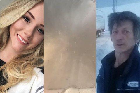 Både Susanne Utse Olsen og Tommy Gunnarsønn har hatt sitt å stri med i uværet onsdag. De er ikke alene.