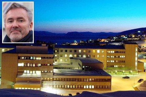 FORBEREDER: Finnmarkssykehuset forbereder seg til å ta i mot første korona-pasient. Vi er best rustet på pustehjelputstyr i landet, sier  kommunikasjonssjef Eirik Palm.