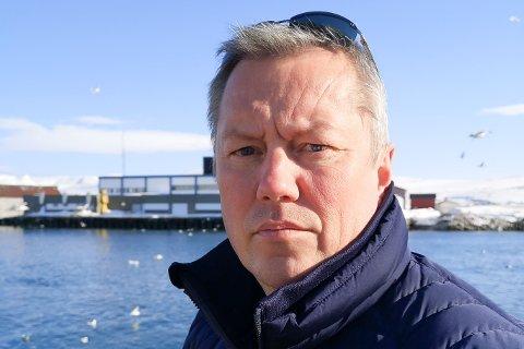 NYTT TILFELLE: Ordfører Ronald Wærnes i Båtsfjord  bekreftet lørdag det fjerde smitte av korona i kystkommunen.