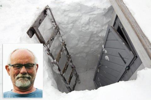 ARTIG: Mange ler av innlegget Ole Ingvald Hansen har lagt ut, hvor han erklærer at«endelig fant vi utedoen»!