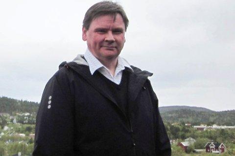 VIL HA RETTIGHETENE: Ordfører Svein Atle Somby i Karasjok mener at kommunens innbyggere skal få rettigheter til grunnen i kommunen.