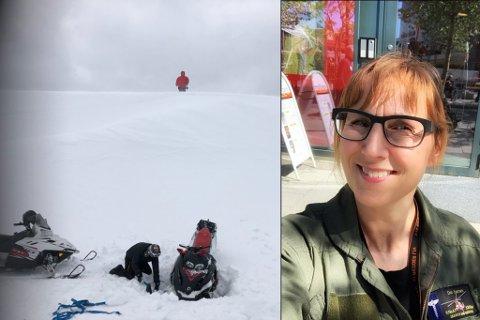 TIPS OG TRIKS: Hanne Iversen ønsker å gjøre befolkningen oppmerksom på farene i fjellet. Hun deler noen tips som kan redde liv.
