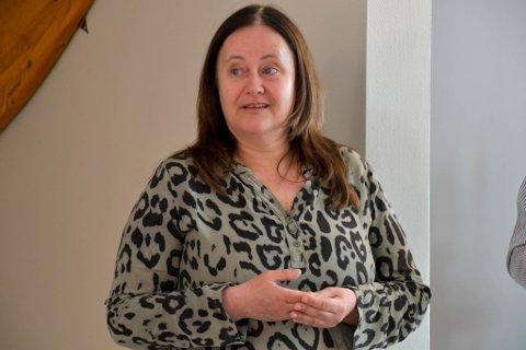 PÅ PLASS: Klinikksjef ved Klinikk Alta, Lena E. Nielsen, har fått flere ansvarsoppgaver etter at sykehuset i Hammerfest stengte ned.