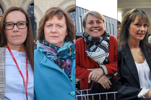 KANDIDATER: Hvem skal følge Runar Sjåstad til Stortinget etter valget neste høst? Fire Ap-kvinner fra vestfylket er nevnt som de heteste kandidatene. Fra venstre Marianne SIvertsen Næss, Kristina Hansen, Aina Borch og Monica Nielsen.