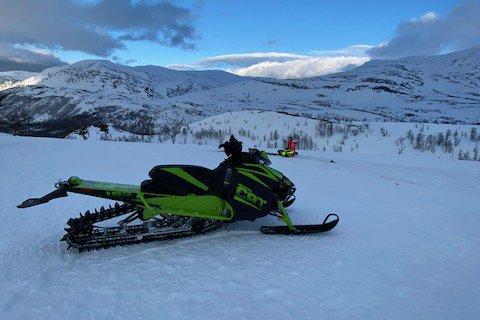 BORTE: Politiet er på jakt etter tips etter at denne scooteren ble meldt stjålet søndag. Det skal ha skjedd fra Kløyva i Talvik i løpet av helga. To biler er også meldt stjålet.
