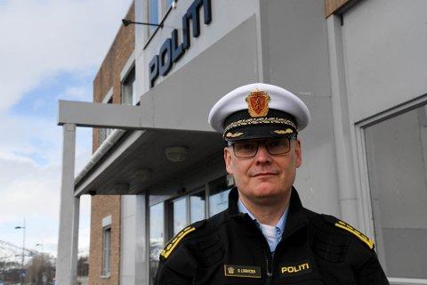 Lensmann Øyvind Lorentzen i Alta.