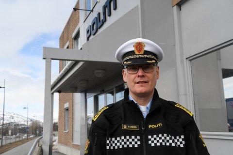 STRAFFESAK: Lensmann Øyvind Lorentzen i Alta ber de ansvarlige om å melde seg for politiet.