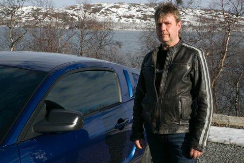 BILENTUSIAST: Tor-Egil Kluge forteller at interessen for bil har fulgt med han siden han var liten gutt. I en alder av 18 år bygget han sin første bil. Siden har det gått slag i slag.