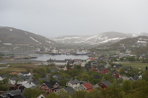 KORONA: Fredag ble det bekreftet at en russisk trålgast i Båtsfjord hadde testet positivt på Covid 19.