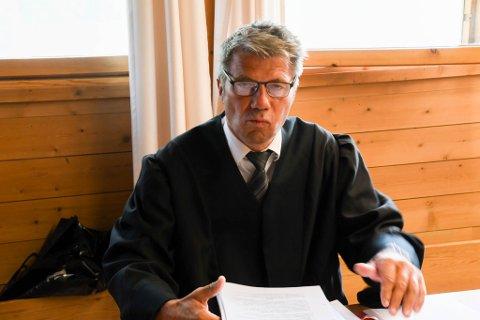 BISTAND: Advokat Trond Pedersen Biti er bistandsadvokat for kvinnen. Her fra en tidligere anledning.