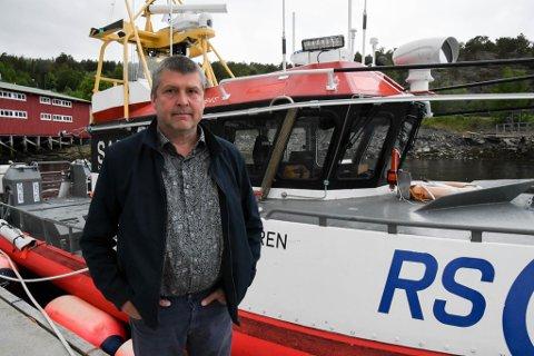 POLITISK JOBB: Bengt Rune Strifeldt jobber for å få ytterligere trygghet for fiskere og befolkningen i hele Finnmark.