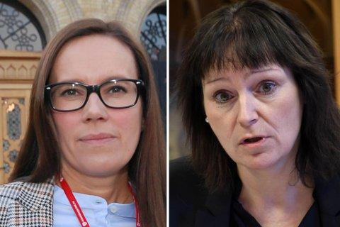 KANDIDATER: Marianne Sivertsen Næss og Monica Nielsen har kriget om 2. plassen på stortingsvalglista til Finnmark Ap.