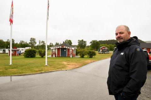 FIKK NEI: Frantz Jakob Rygh på Camp Alta fikk nei fra et flertall i planutvalg til å gå videre med å planlegge 35-40 boliger på campingplassen.