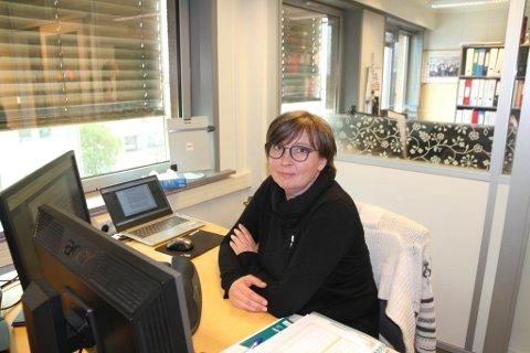MÅTTE SITTE I KARANTENE: Hege Ervik er ny kollega i UE Finnmark, men måtte sitte i karantene den første tiden.