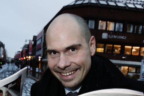SPENT: - Jeg er veldig glad og veldig spent, sier Anders Opdahl som er ny konserndirektør i Amedia. Her avbildet i 2012.