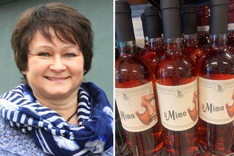 HYPE ELLER KULTVIN?: Her står det mange flasket av vinen som er utsolgt over store deler av landet.