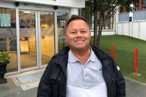 I HJEMBYEN: Oddmund Sletten er i hjembyen for å skredsikre byen.