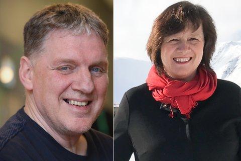 STØRST: Geir Adelsten Iversen (Sp) er nå kun fire prosentpoeng bak Kristina Hansen og Arbeiderpartiet.
