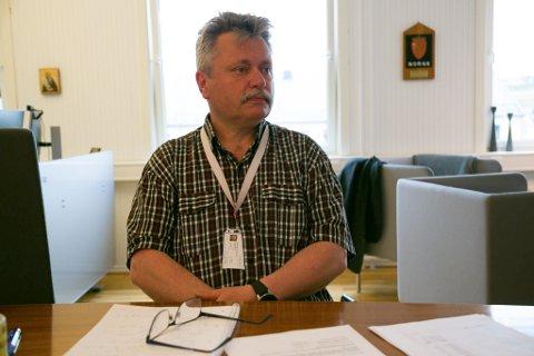 BER BEFOLKNINGEN HOLDE UT: Fungerende ordfører Pål K. Gabrielsen i Sør-Varanger kommune ber innstendig innbyggerne om å følge smittevernråd som gjelder.
