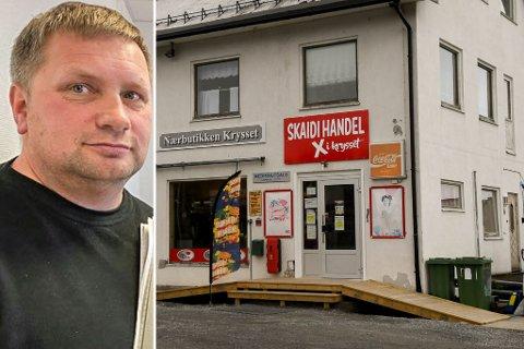 FORTVILER: - Om varene ikke ble gitt bort for en slikk og ingenting, hadde vi hatt penger både til husleie og lønn sier Skaidi Handels styreleder Stig Martin Holmgren.