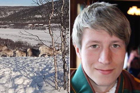 VENTER DOM: Reineier Lasse Andre Anti fra Karasjok håper de to han mener stjal en hvit reinsimle fra ham, skal få sin dom.
