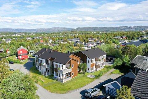 SLIK KAN DET BLI SEENDE UT: Geir Svendsen Entreprenør har sammen med Vegard og Andreas Berge Uglebakken gått sammen om å selge dette prosjektet i Furuåsen i Alta.