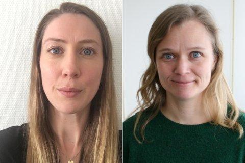 Charlotte Hemmingsen er fra Vadsø  og Rakel Hunstad fra Valnesfjord.